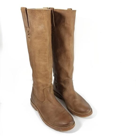 Frye Shoes - Frye Celia X Stitch Tall Boots
